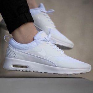 Nike Air Max Thea all white shoes